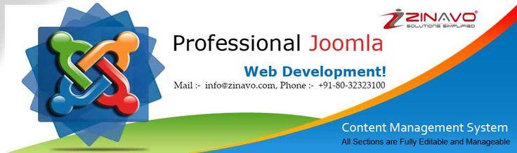 We are with the best professional Joomla website designers. www.zinavo.com