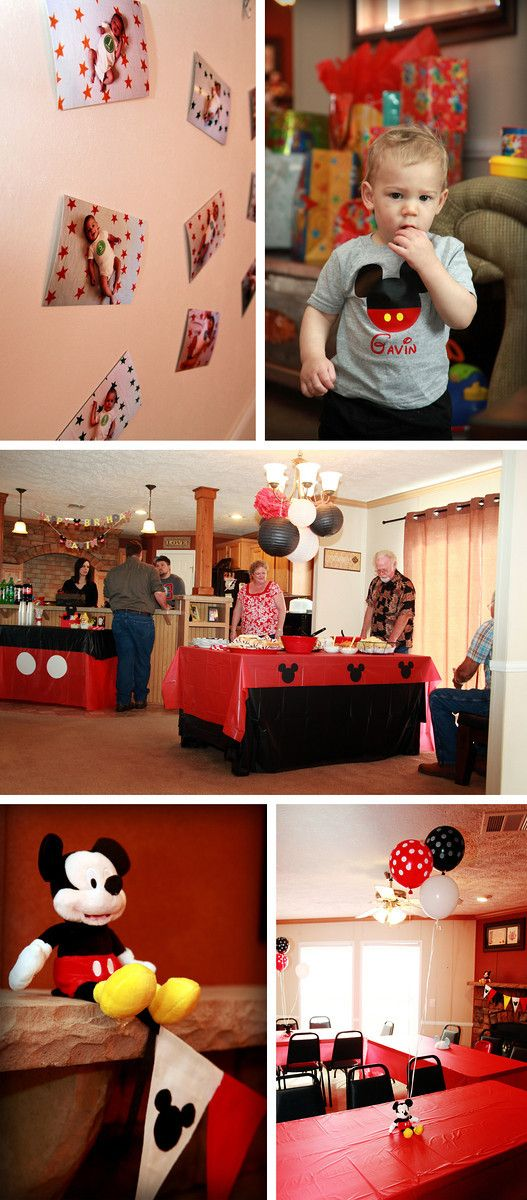 Mickey Mouse Disney themed kid birthday party!