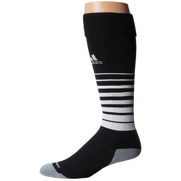 adidas Team Speed Soccer Sock Knee High Socks ($16) ❤ liked on Polyvore featuring intimates, hosiery, socks, knee hi socks, adidas, knee socks, logo socks and crew socks