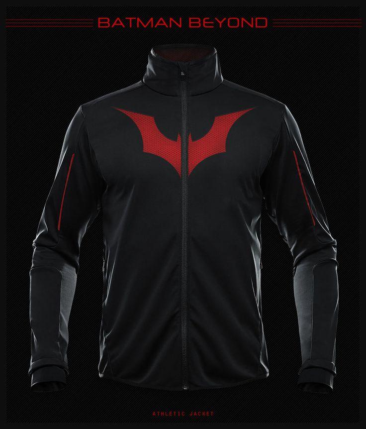 Batman Beyond Athletic Jacket by ~seventhirtytwo on deviantART
