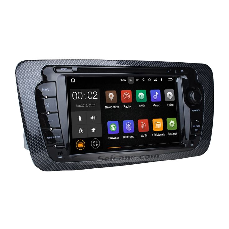 Seicane OEM 2009-2013 SEAT IBIZA Android 7.1.1 Radio DVD player GPS navigation system HD 1024*600 touch screen Bluetoot
