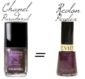 Chanel paradoxal nail polish dupe - by the way Perplex is now called Naughty