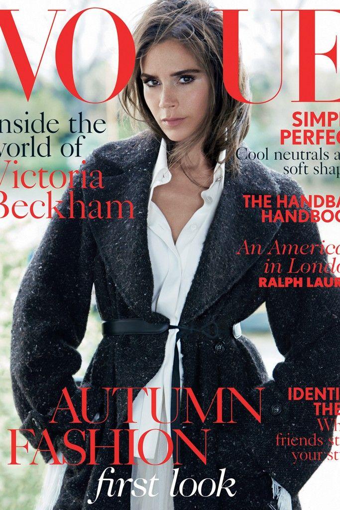 British Vogue Taps Victoria Beckham for August