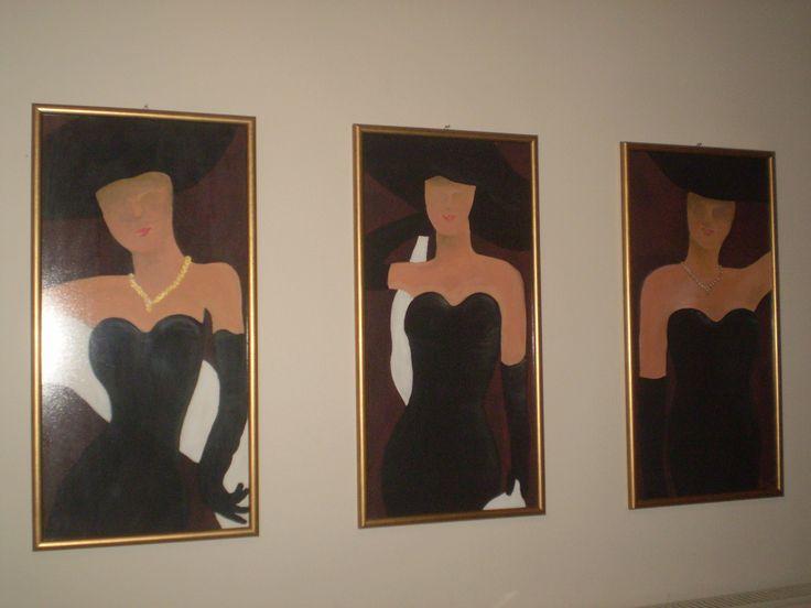 my painting...three women's... no matter what...