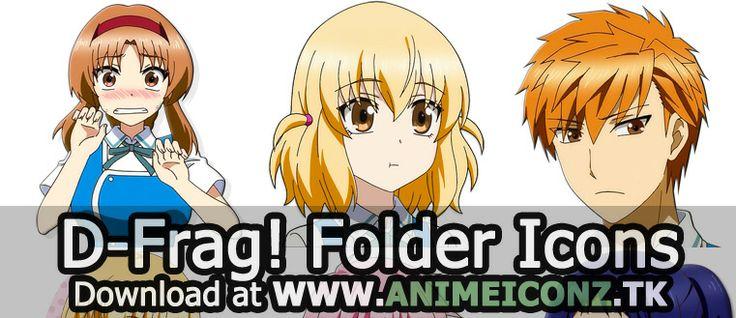 DFrag!  Characters amp Staff  MyAnimeListnet