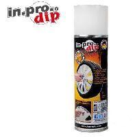 Peintures et Laques ADNAuto - InproDip Film pour jantes - Blanc - 1x300ml - similaire PlastiDip