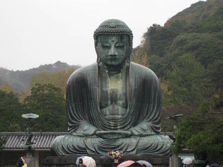 Main attraction: Kamakura's famed giant Buddha is 13 meters tall.