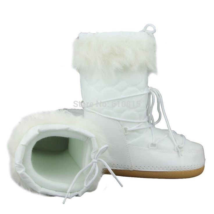 Best Snow Boots Slip-resistant Waterproof Women Winter Hight Moon Boots Online with $62.83/Piece | DHgate