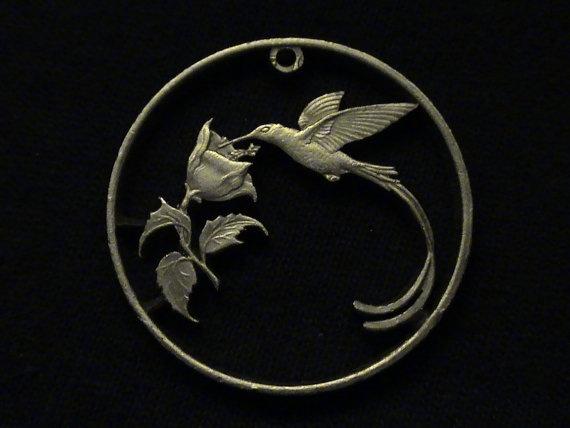 Cut Coin Pendant