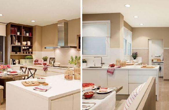 adelaparvu.com despre apartament cu trei camere pentru o familie cu doi copii, design interior Elena Rodríguez, Pler Interioristas, Foto ElMueble (70)