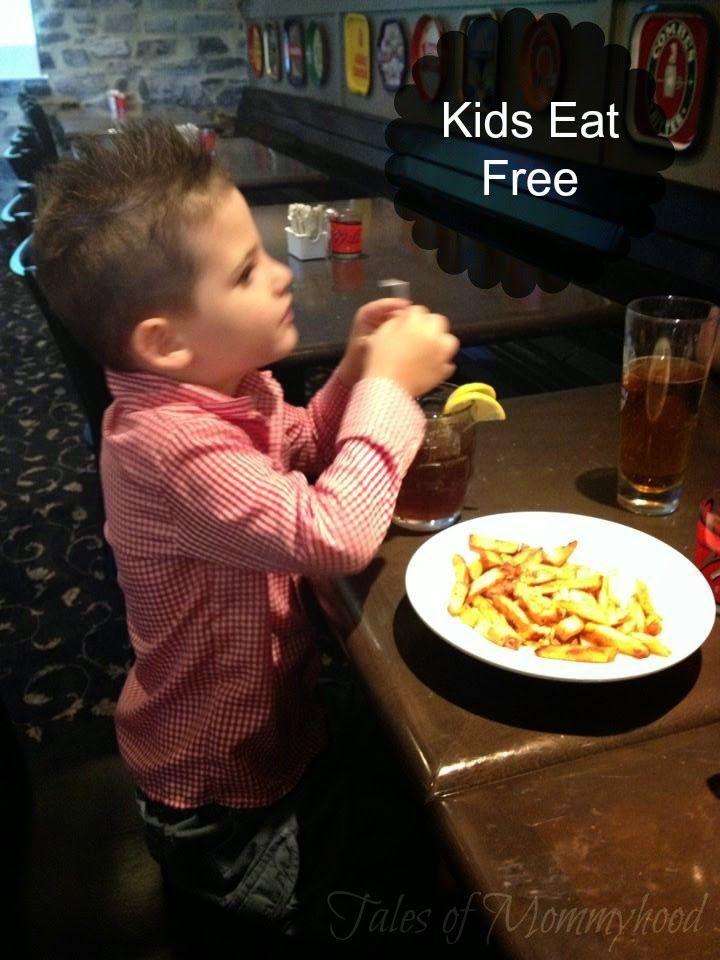 List of restaurants where kids eat free