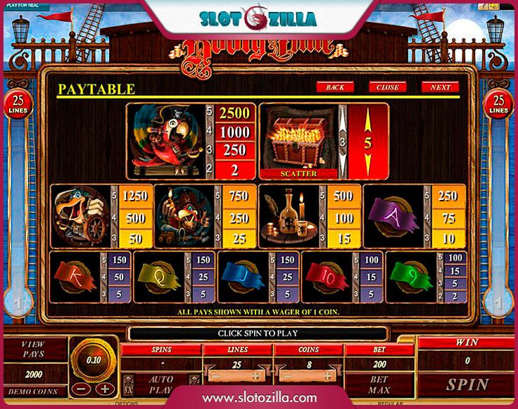 Booty Time free #slot_machine #game presented by www.Slotozilla.com - World's biggest source of #free_slots where you can play slots for fun, free of charge, instantly online (no download or registration required) . So, spin some reels at Slotozilla! Booty Time slots direct link: http://www.slotozilla.com/free-slots/booty-time