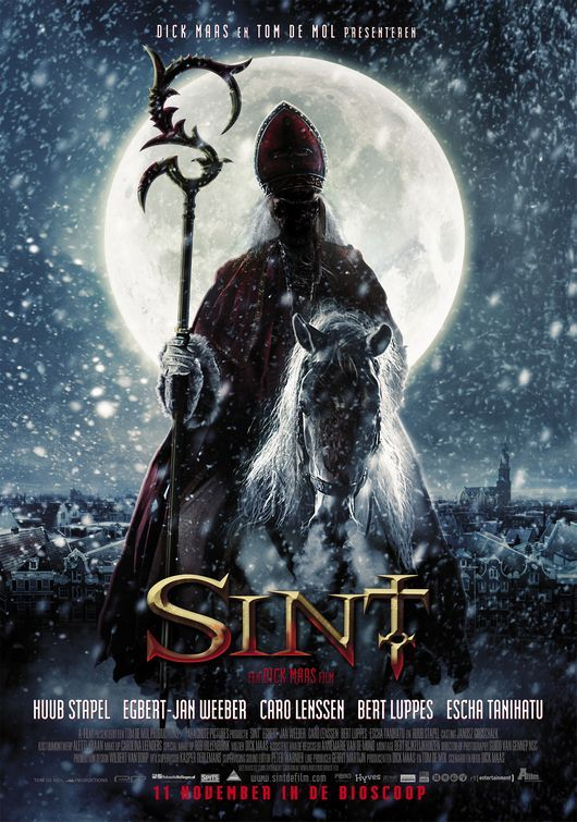 Sint, horror movie about the Dutch Santa. Love this movie.