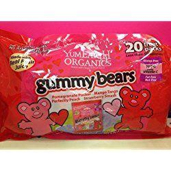 YumEarth Organics Gummy Bears Valentine's Day 20 Treat Packs
