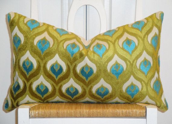 Blue and green, $49.00Pillows Covers, 20 Accent, Accent Pillows, Decorative Pillows, Lumbar Pillows, Pillow Covers, Throw Pillows, Decor Pillows, Covers 12