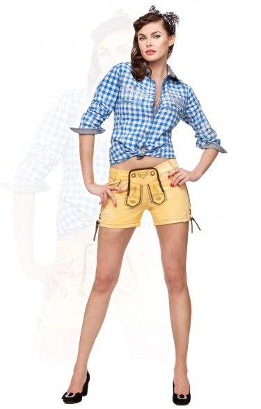 Traditional shorts Roxy yellow sub