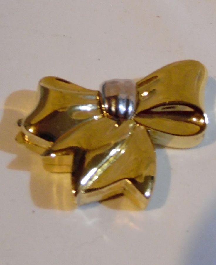Estee Lauder Beautiful Perfume Solid Beautiful Bow Compact 1989