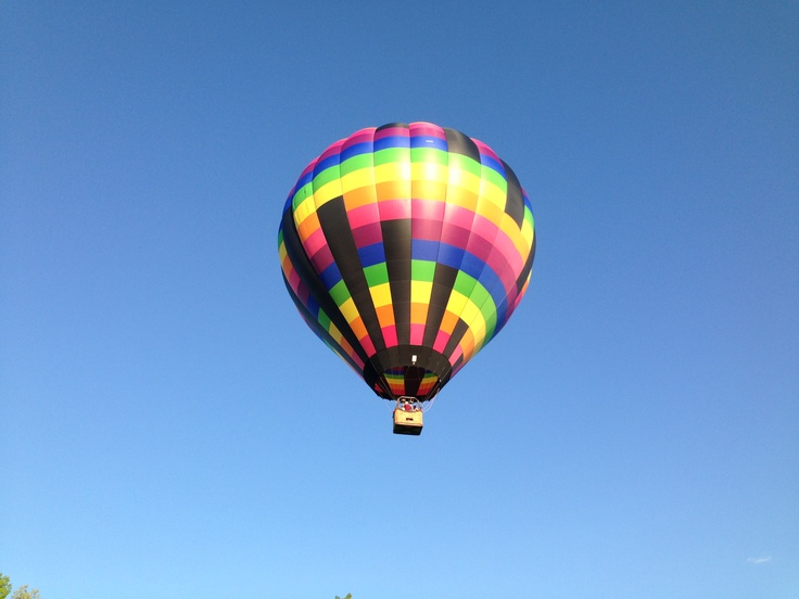 Up up and away! May 16 2013