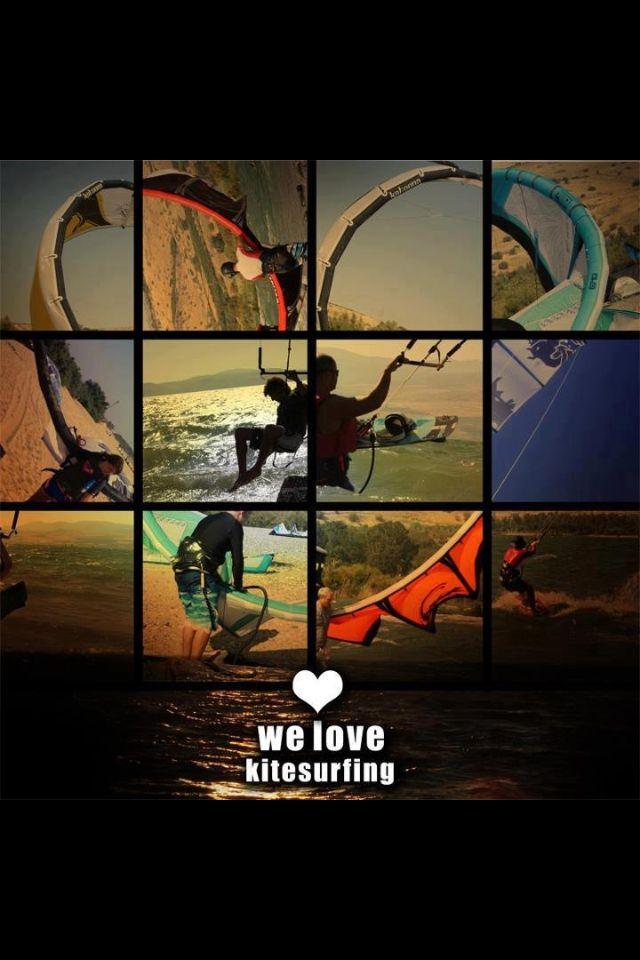 We love kitesurf!
