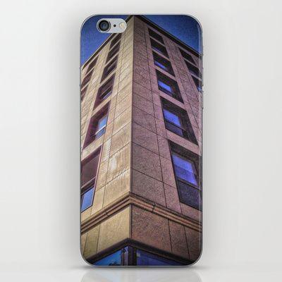 Purple Building iPhone & iPod Skin by AngelEowyn - $15.00