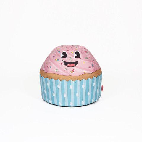 Woouf Cupcake Blue Bean Bags