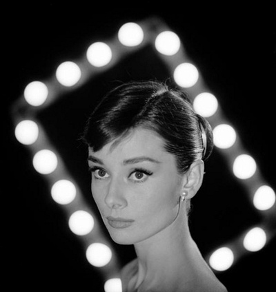 Audrey Hepburn - photo by Allan Grant