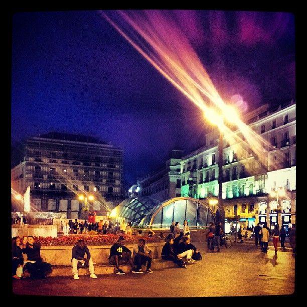 Puerta del Sol in Madrid, Madrid
