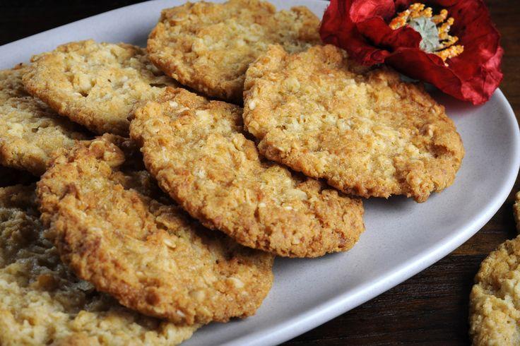 Gluten Free Anzac Cookies
