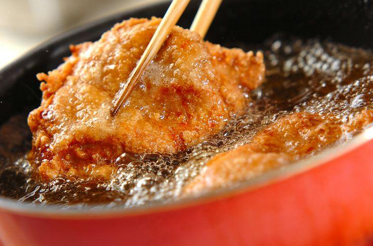 揚げ鶏レモンソースがけの作り方2