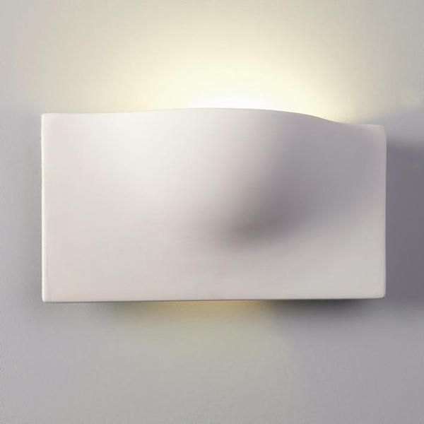 Astro 0432 Arwin Modern Ceramic Wall Uplighter Light from Lights 4 Living
