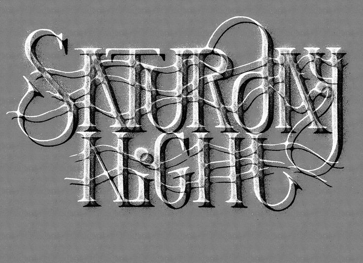 https://www.behance.net/gallery/30654649/Another-Saturday-Night