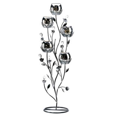 Moonlit Bridals - Silver Tulip Candle Tree, $59.99 (http://www.moonlitbridals.com/silver-tulip-candle-tree/)