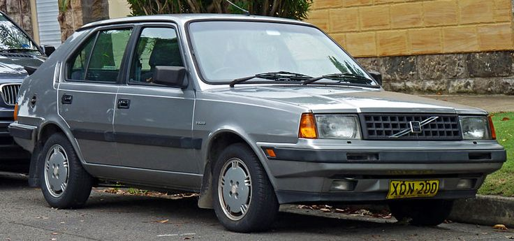 1985-1988 Volvo 360 GLT 5-door hatchback- Car number 5 and we had this model. Very plush but also old and knackered, plus the front seat didn't work.