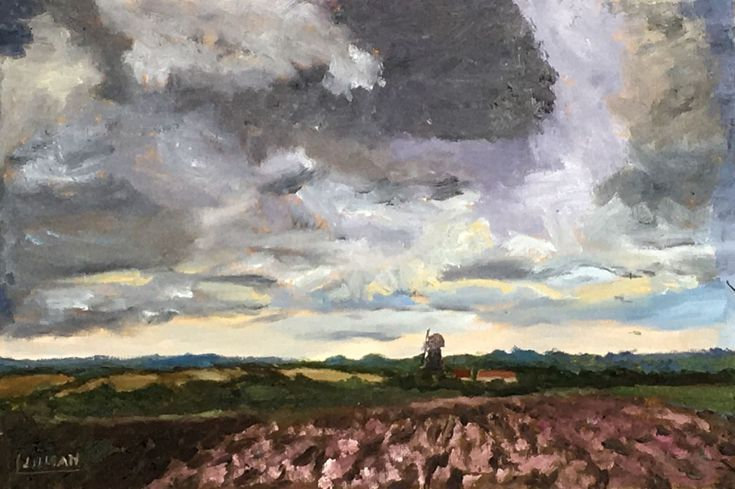 Buy Storm clouds over Sarre Windmill, Kent, Oil painting by Julian Lovegrove Art on Artfinder. Discover thousands of other original paintings, prints, sculptures and photography from independent artists.