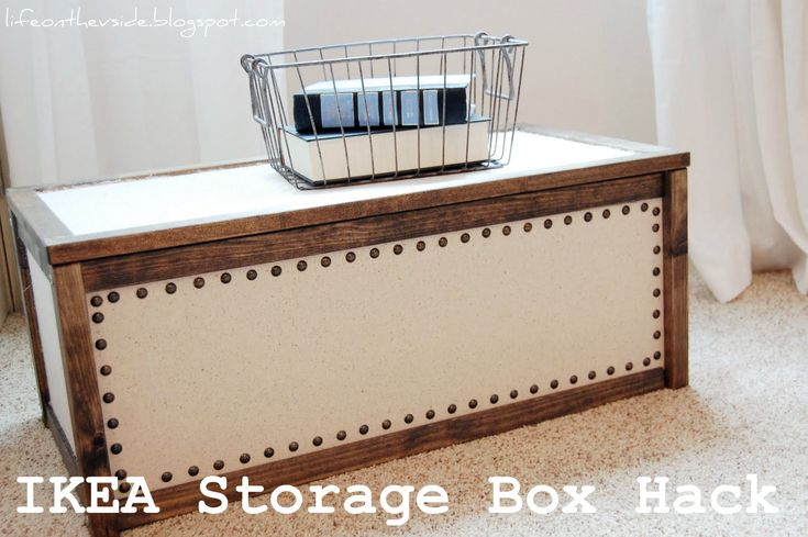 IKEA APA Storage Box Hack // for Zoe's toys in the basement