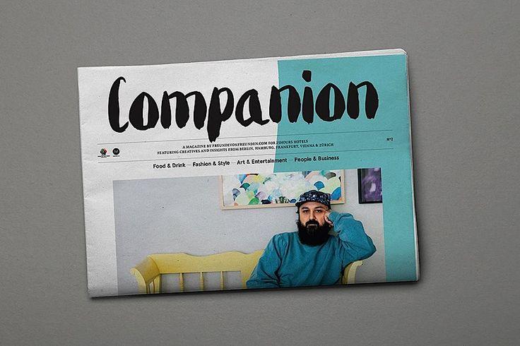 Editorial Design Inspiration: Companion Magazine | Abduzeedo Design Inspiration