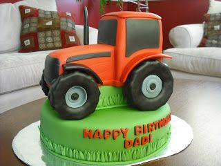 Happy Birthday to another tractor lover. I was told this birthday guy collects Case tractors. It's always a little intimidating making a c...