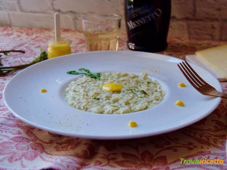 Risotto Bruscandoli, Asiago e Prosecco  #ricette #food #recipes