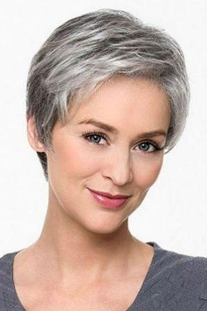Cheveux gris 70 coiffures cheveux gris pour femme
