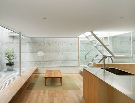 House in Hiroshima by Suppose Design Office, Japan.