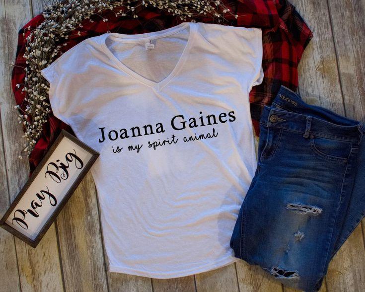 Joanna Gaines is My Spirit Animal Shirt-Joanna Gaines-Fixer Upper Shirt-Women's Shirt-Cute Shirt-Shirt with Saying