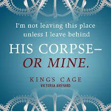 King's Cage, la tercera parte de la saga La Reina Roja de Victoria Aveyard, ya tiene fecha de salida en Estados Unidos. El 7 de febrero de 2017 en librerías