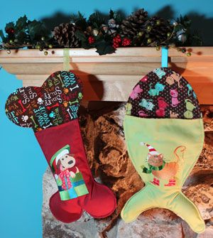 Cat stocking project and dog stocking project