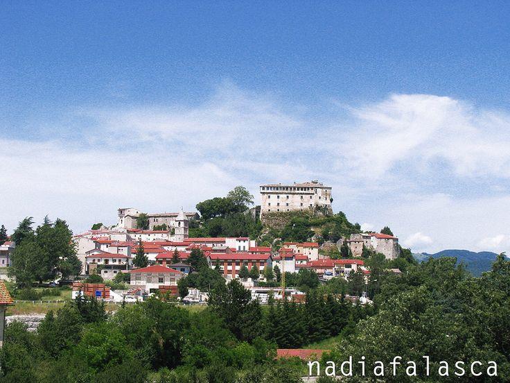 Panorama di Pescolanciano  #pescolanciano #castello #molise #travel #tratturi