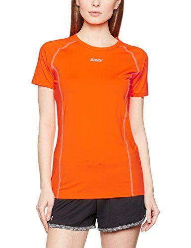 €2.93 in Gr. S * Gregster Damen 11128 T-Shirts, Neo Orange * Sportbekleidung Damen günstig
