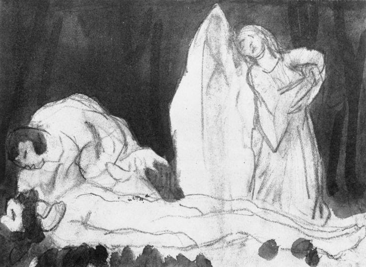 Károly Ferenczy - Piétà 1., 1914, olaj, vászon, 86x116 cm