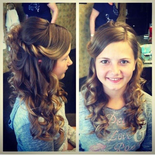 Wedding Hairstyles For Jr Bridesmaids: 88 Best Images About Wedding MUAH Junior Bridesmaids