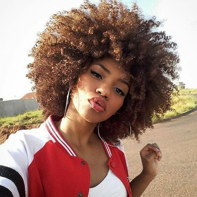 Afro Hairstyles Unique 70 Best The Afro Hairstyles Images On Pinterest  Curly Girl Braids