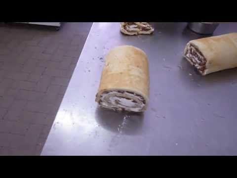 Come Fare i Rotoli Nutella e Panna - Ricette Dolci e Cucina - Video Tutorial - YouTube