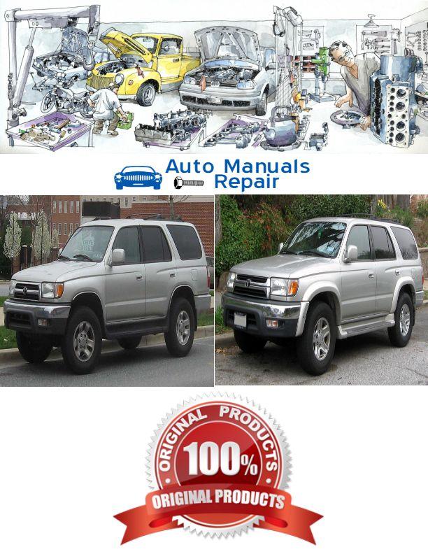 Toyota 4Runner 1996-2002 Services Repair Manual